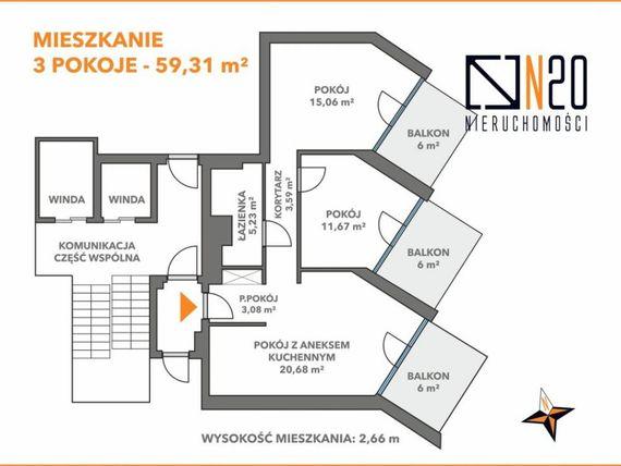 Zdjęcie nieruchomości 20 - mieszkanie